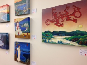 Alistair's Art Exhibition