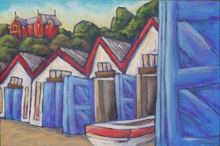 Boatsheds, Oriental Bay